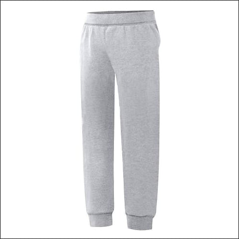 Hanes ComfortSoftäó; EcoSmart® Girls Jogger Sweatpants - Light Steel / XS - Hanes 090563769865