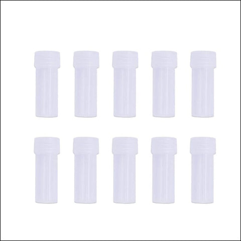 Healifty Transparent Needle Storage Tube Cross-Stitch Needle Bottle Sewing Needle - Healifty 0798187549619
