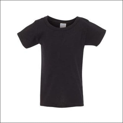 Heavy Cotton Toddler T-Shirt - Black / 2T - Gildan 821780093130
