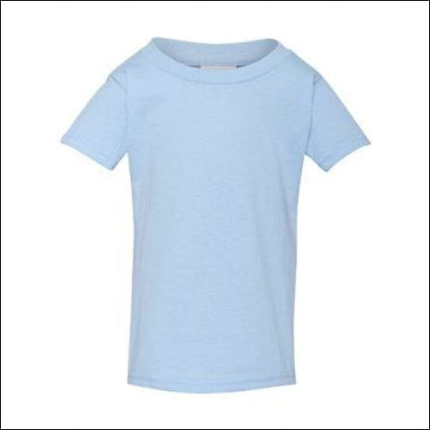 Heavy Cotton Toddler T-Shirt - Light Blue / 2T - Gildan 821780093157