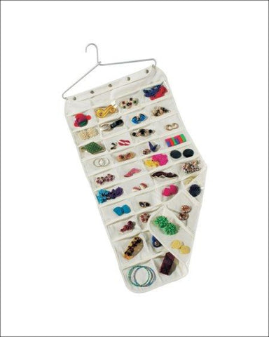Household Essentials 80-Pocket Jewelry Organizer - Household Essentials 040071110079