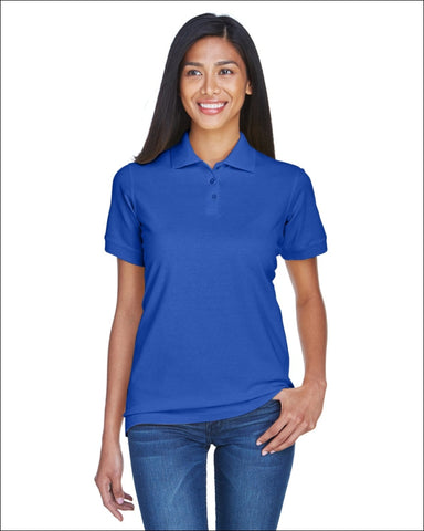 Ladies Classic Piqué Polo - ROYAL / L - UltraClub 882849489006