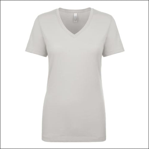 Ladies Ideal V - SILVER / XS - Next Level 00841016106597
