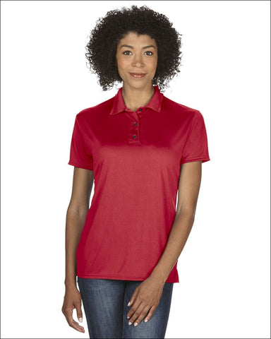 Ladies Performance® 4.7 oz. Jersey Polo - RED / S - Gildan 821780030992