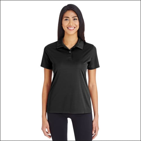 Ladies Zone Performance Polo - BLACK / XS - Team 365 00882849566028