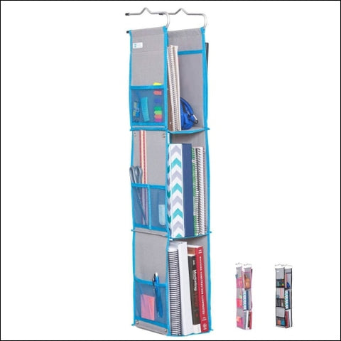 Moditty Hanging Locker Organizer For School Work Gym Storage 3 Or 2 Shelf - Moditty 0726152325180