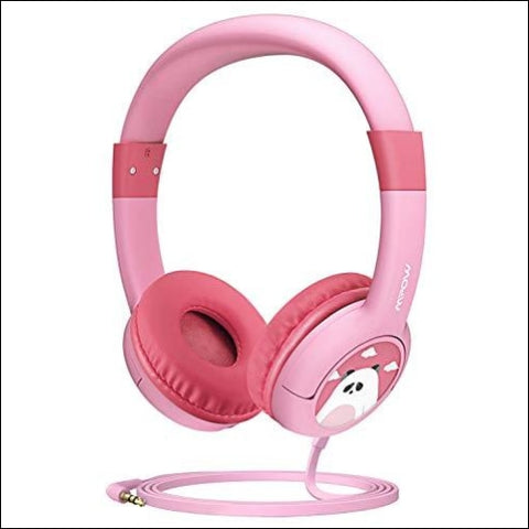 Mpow CH1 Kids Headphones w/85dB Volume Limited Hearing Protection & Music Sharing Function Kids Friendly Safe Food Grade Material