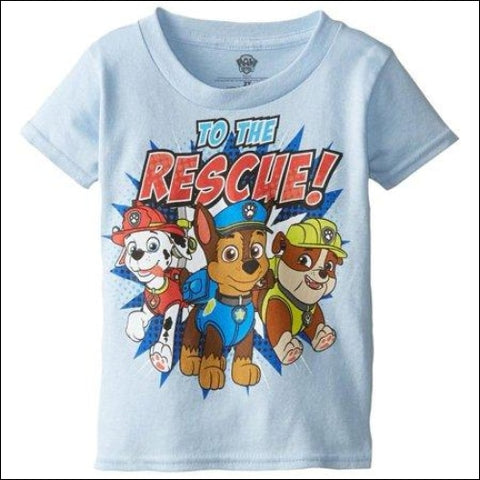 Nickelodeon to the Rescue Toddler Boy Short Sleeve T-Shirt - PAW Patrol 0887648366718