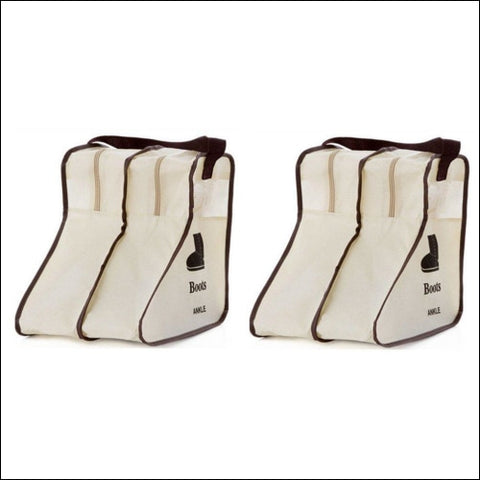 Nizzco Portable 2 Packs Short Boots Storage/protector Bag Boots Covergream - Nizzco 0723610226652