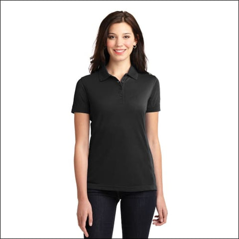 Port Authority Ladies 5-in-1 Performance Pique Polo. L567 - Black / XS - Port Authority 191265522144