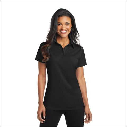 Port Authority Ladies Dimension Polo. L571 - Black / XS - Port Authority 191265287012