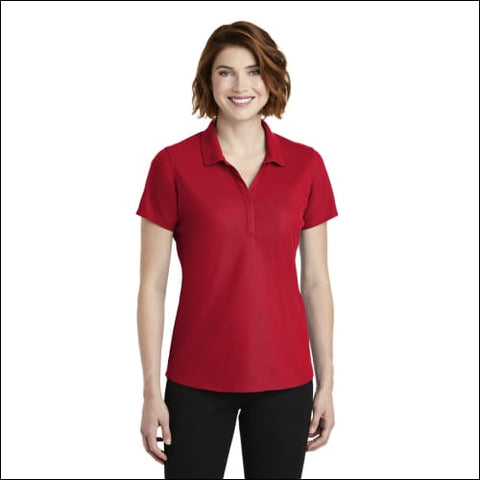 Port Authority Ladies EZPerformance Pique Polo. LK600 - Apple Red / XS - Port Authority 191265729079
