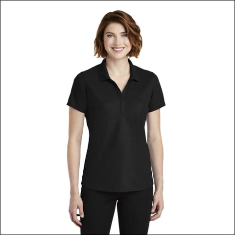 Port Authority Ladies EZPerformance Pique Polo. LK600 - Black / XS - Port Authority 191265673679
