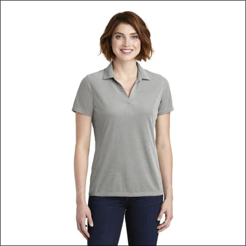 Port Authority Ladies Poly Oxford Pique Polo. LK582 - Black / XS - Port Authority 191265673129