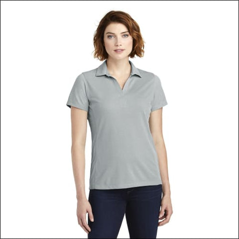 Port Authority Ladies Poly Oxford Pique Polo. LK582 - Gusty Grey / XS - Port Authority 191265673358