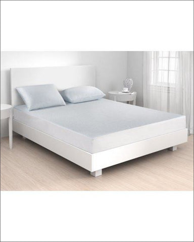 Silver SENSACOOL Mattress Protector in Multiple Sizes by Beautyrest - White / twin - Beautyrest 025695981007