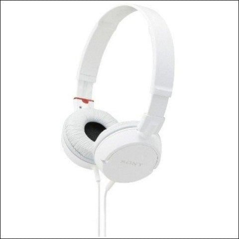 Sony ZX Series Wired On-Ear Headphones White (MDRZX110/WHI) - Sony 27242868823