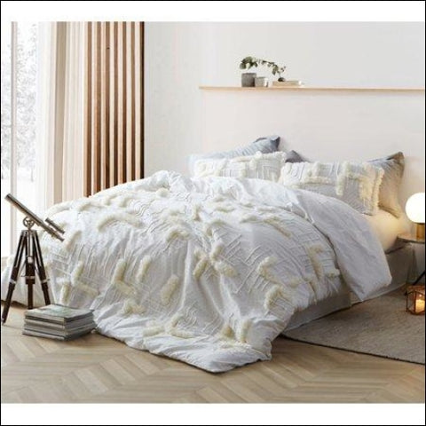 Southern Alps Textured Oversized Comforter - Byourbed 0843249162630