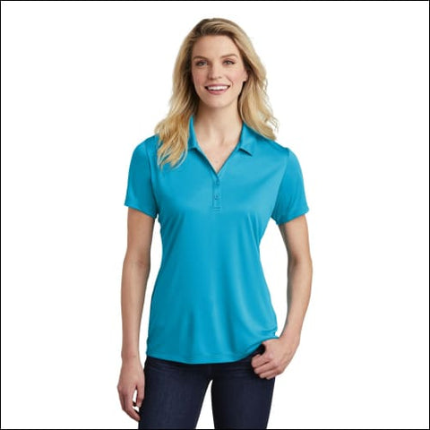 Sport-Tek Ladies PosiCharge Competitor Polo. LST550 - Atomic Blue / XS - Sport-Tek 191265640299