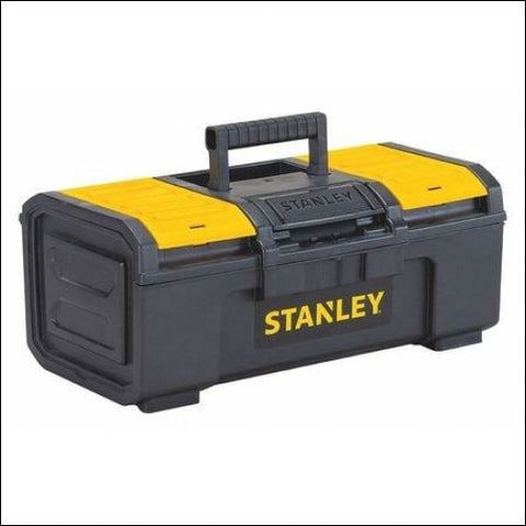 Stanley Hand Tools STST16410 16 Black & Yellow Auto Latch Tool Box - Stanley Hand Tools 076174703283