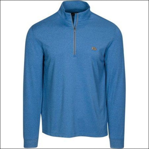 Tourney Mens Knit Quarter Zip Mock Performance Golf Pullover - Tourney 0885317151443