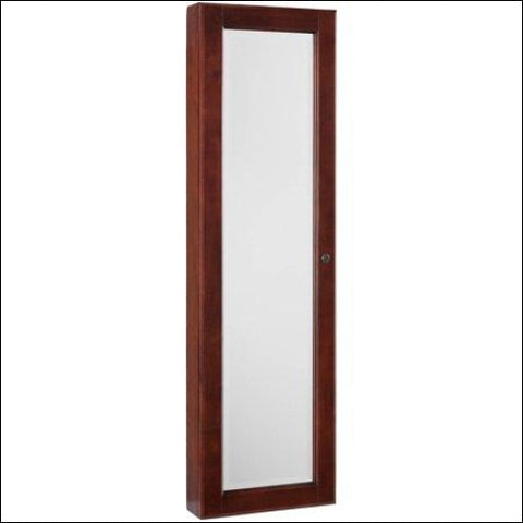 Vista Wall Mount Jewelry Armoire Cherry - Vista 0037732050614