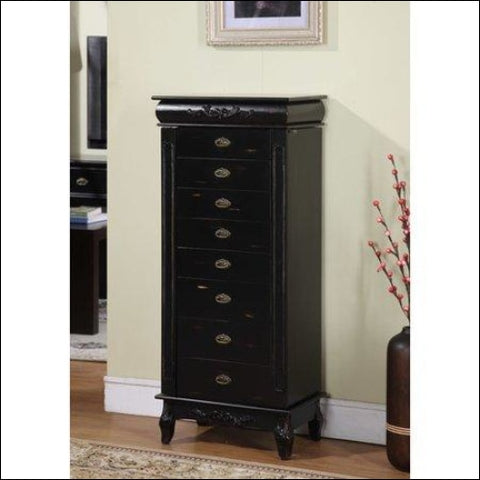Wildon Home Moser Jewelry Armoire with Mirror - Wildon Home 0816302010612