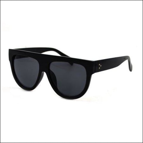 Womens Fashion Flat Top Super Future Retro Vintage Sunglasses P4156 - Pop Fashionwear Inc. 0649870889164