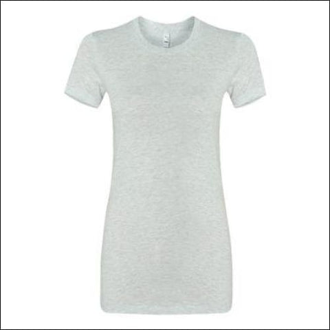 Womens The Favorite Tee - Ash / S - Bella + Canvas 00884913233492