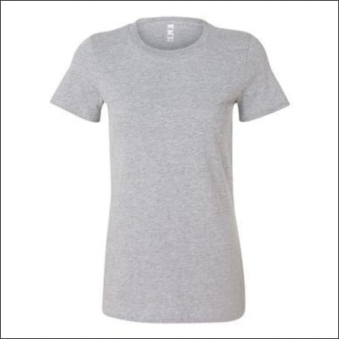 Womens The Favorite Tee - Athletic Heather / S - Bella + Canvas 00884913108059