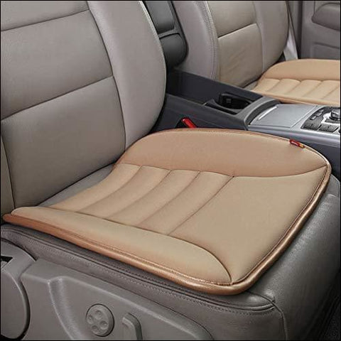 YSLYGHY Car Seat Cushion Pad for Car Driver Seat Office Chair Home Use Memory Foam Seat Cushion - YSLYGHY 0729375291393