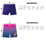 Zephyr Hybrid Shorts - Berry Edition