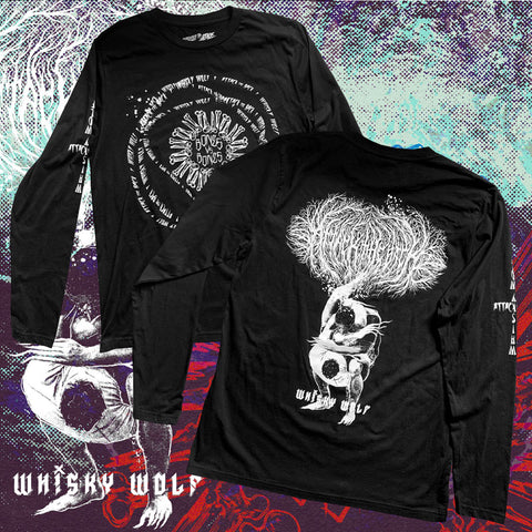 whisky wolf bones bjj t-shirt attack the back