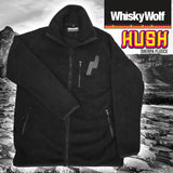whiskywolf outdoor fleece jacket