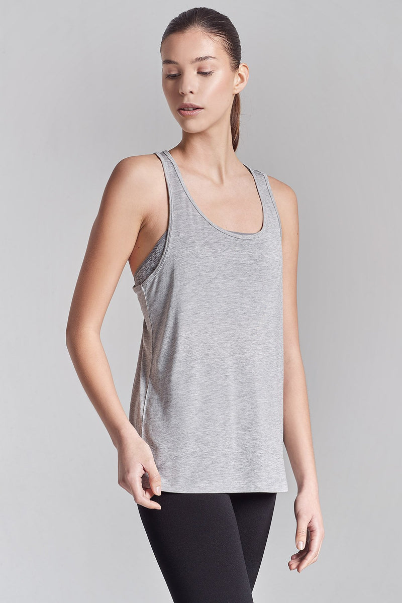 Kysal Top Théa Grey / XS activewear sport