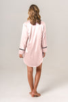 Women's Personalised Pyjamas - Blush Boyfriend Nightie / Night Shirt