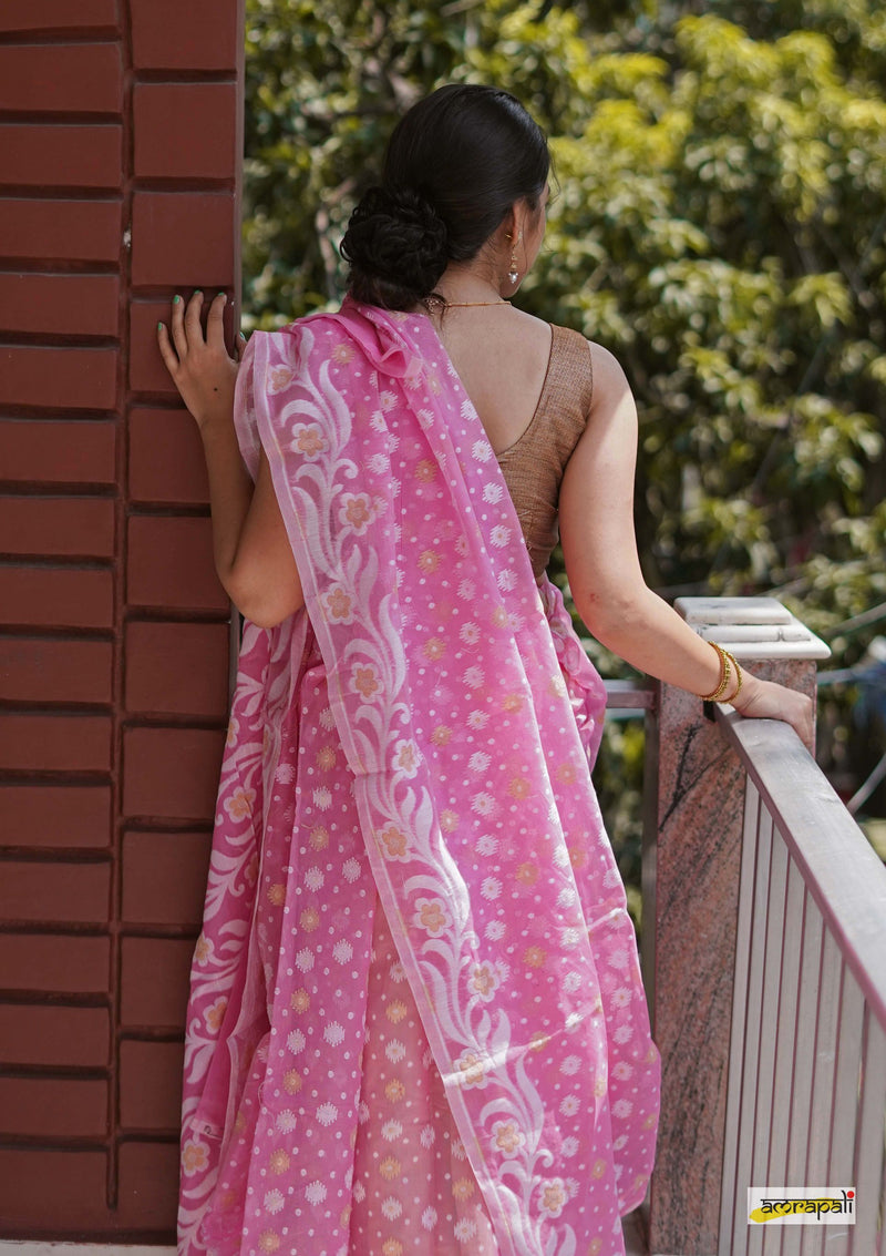 Handwoven Bengal Cotton Jamdani