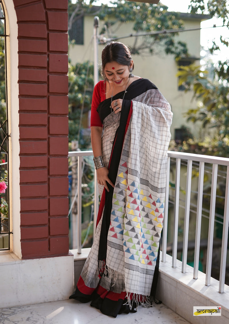 Pure Cotton Aar Bohor Kantha