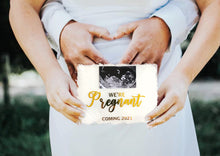 Load image into Gallery viewer, Pregnancy announcement plaque