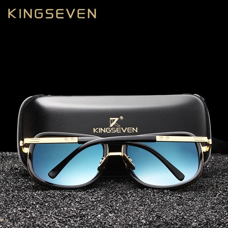 KINGSEVEN Unisex Retro Sunglasses