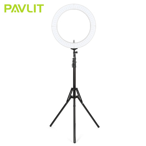 PAVLIT 18 inch Outer Dimmable LED Ring Light for Camera Smartphone