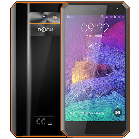 NOMU M6 4G Smartphone 5.0 inch Android 7.0 MTK6737VWT Quad Core 1.5GHz 2GB RAM 16GB ROM 8.0MP Rear Camera 3000mAh Battery