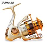 YUMOSHI 12BB Spinning Fishing Reel Outdoor