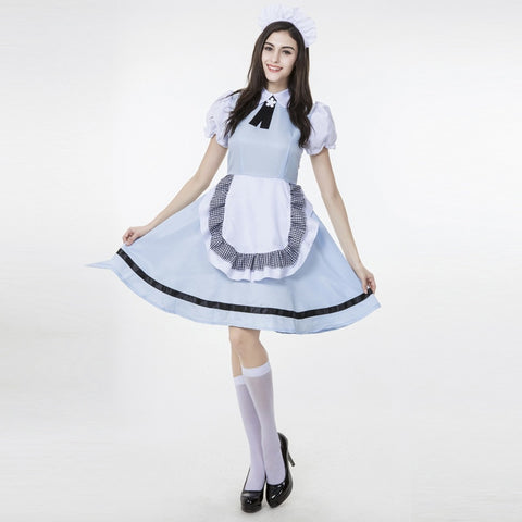 Halloween Maid Service Uniform Temptation Beer Girl Oktoberfest Costume German Wench Fancy Party Club Bar Dress Cosplay M L XL