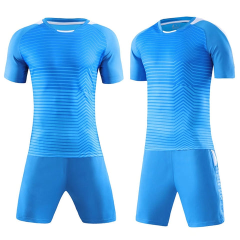 Men Survetement Football 2017 Sports Training Suits Soccer Jerseys Set Breathable Futbol Jersey Tracksuit DIY Drawing Printing