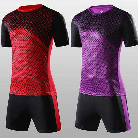 Hot Sale Children and Adult Soccer Jersey Quick drying Outdoor Sports Fashion New Multicolor Light Game Football Training suits
