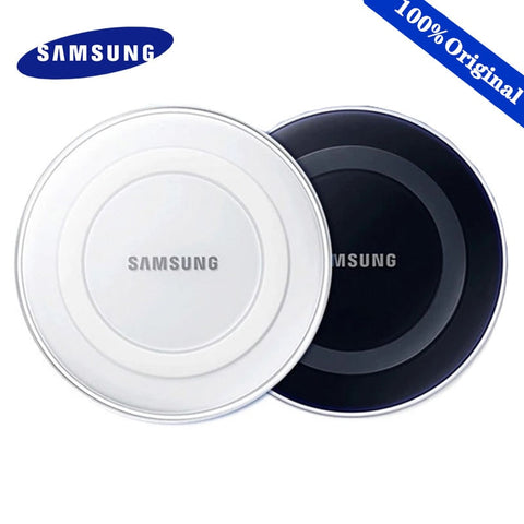 Samsung Wireless Charger adapter 5V2A QI pad For Galaxy S7 S6 EDGE S8 S9 S10 Plus Note 4 5 X XS XR mi 9 Original Adapter Charge