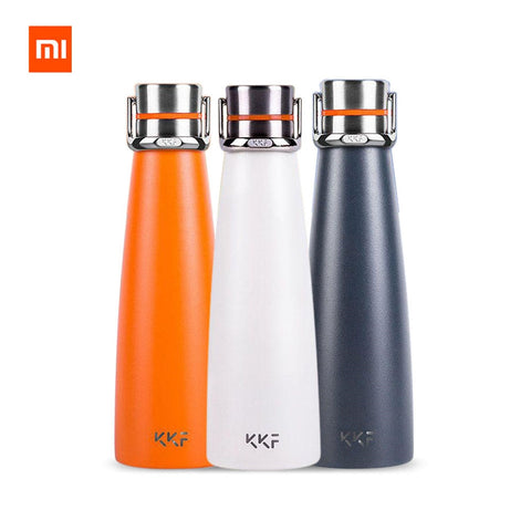 Original XIAOMI MiJia kkf KISSKISSFISH SU-47WS Smart Vacuum Thermos Water Bottle Thermos Cup Portable Water Bottles