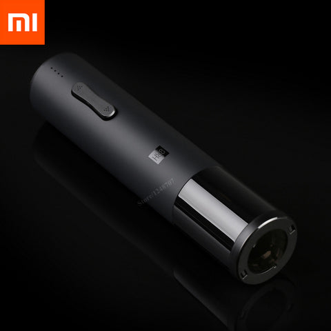 Hot Xiaomi Mijia Huohou Automatic Red Wine Bottle Opener Electric Corkscrew Foil Cutter Cork Out Tool For Xiaomi Smart Home Kits