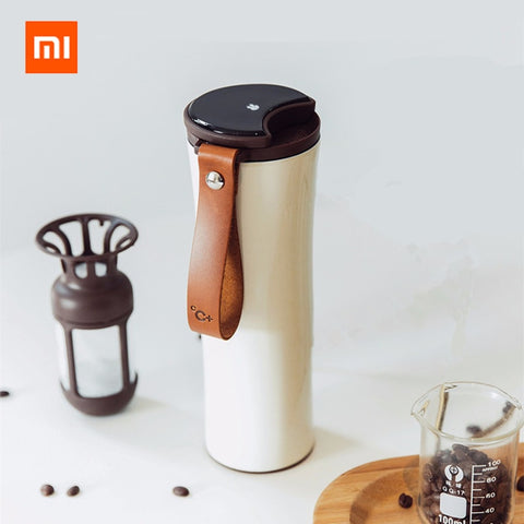 Xiaomi Original kiss kiss fish Smart Stainless Steel Thermal Vacuum Water Bottle Sensitive Temperature Sensor with Coffee Brewer